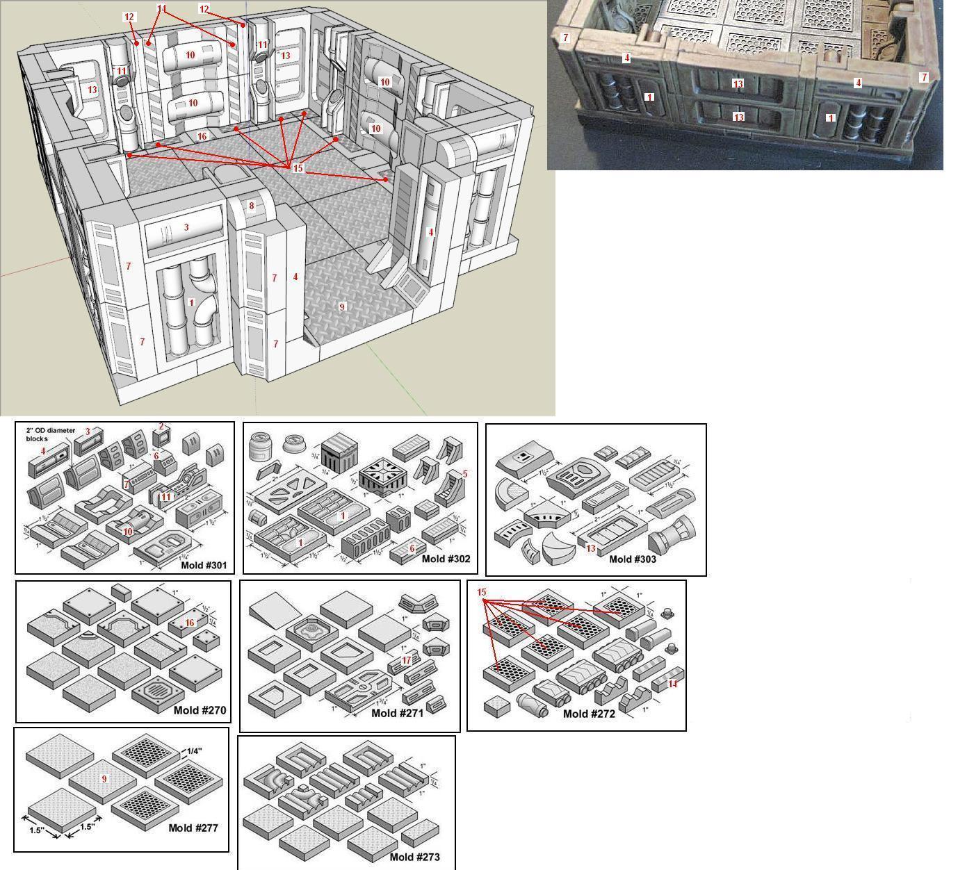 Projet Space Hulk 3D Hirst-Room-parts-01